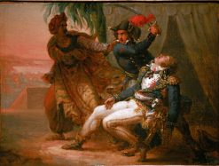 The Assassination of General Kleber | Antoine-Jean Gros | Oil Painting