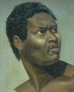 Head of a Negro | Antoine-Jean Gros | Oil Painting