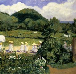 Picnic in May | Karoly Ferenczy | Oil Painting