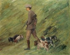 Hunter in the Dunes | Max Liebermann | Oil Painting