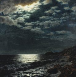 Moonlit Sea | Ivan Fedorovich Choultse | Oil Painting