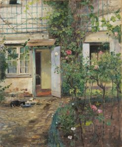Old House in Normandy | Eilif Peterssen | Oil Painting