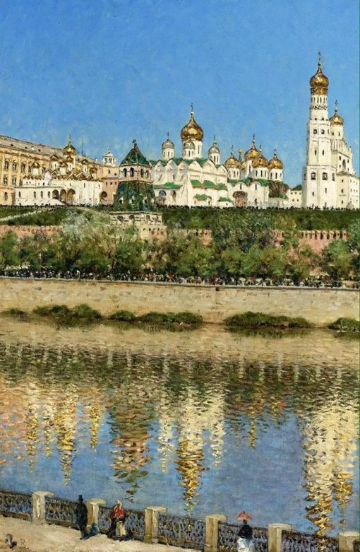 View of the Kremlin | Vasily Vasilevich Vereshchagin | Oil Painting