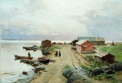 The Coast near Haapsalu | Alexander Beggrov | Oil Painting