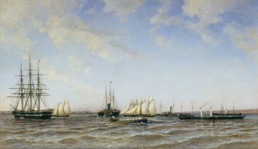 "The Yachts ""Derzhava"" and ""Alexandria"" 