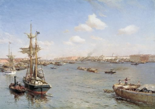 St. Petersburg | Alexander Beggrov | Oil Painting