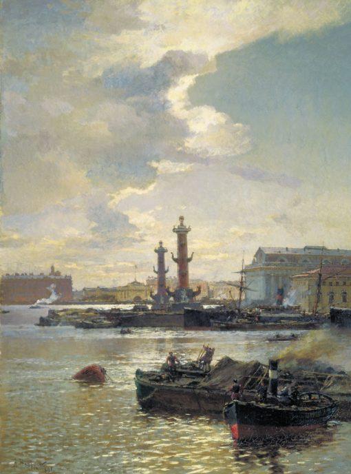 St. Petersburg   Alexander Beggrov   Oil Painting