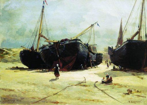 Scheveningen | Alexander Beggrov | Oil Painting