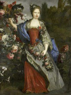 Portrait of Marie-Louise Elisabeth dOrleans
