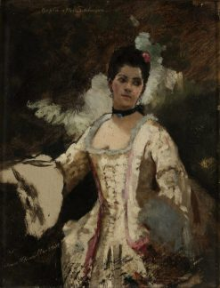 Study of an Elegant Lady | Anna Munthe-Norstedt | Oil Painting