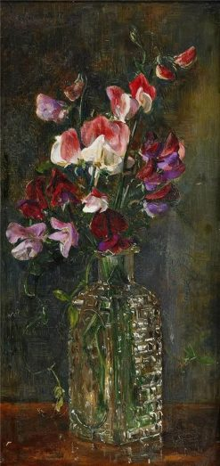 Still Life with Sweet Peas | Anna Munthe-Norstedt | Oil Painting