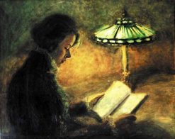 The Reader | Leonid Osipovich Pasternak | Oil Painting