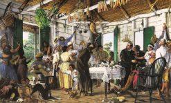El velorio | Francisco Oller | Oil Painting