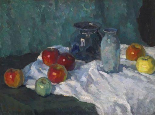 Still Life with Apples | Konstantin Gorbatov | Oil Painting