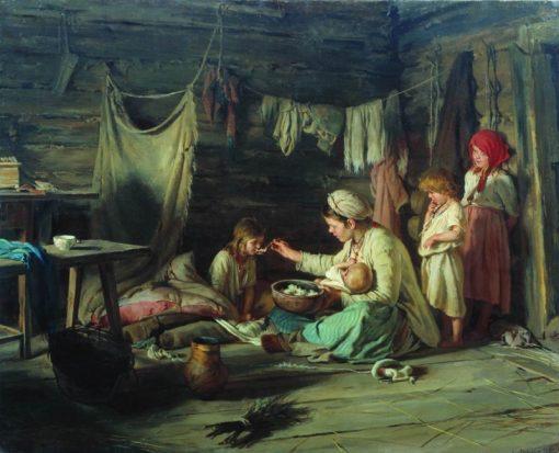 The Convalescent | Karl Lemokh | Oil Painting