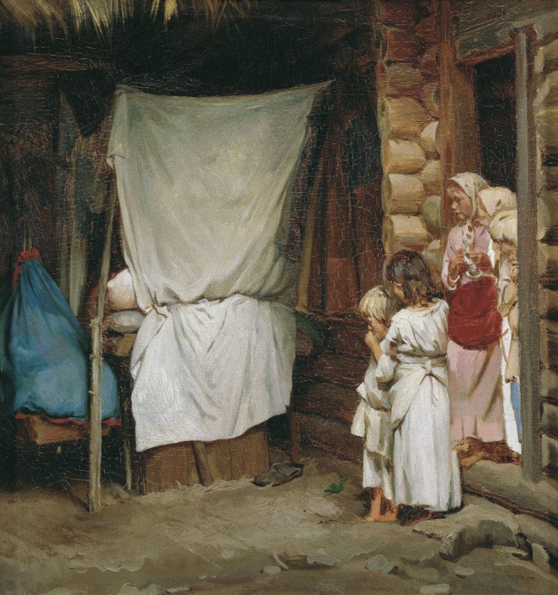 New Family Member | Karl Lemokh | Oil Painting