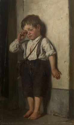 A Wretched Boy | Karl Lemokh | Oil Painting
