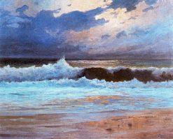 Efecto de luna en el mar | Jose Salis Camino | Oil Painting