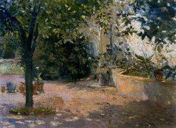 The Garden | Jose Salis Camino | Oil Painting