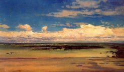 Nubes de Otoño | Jaime Morera y Galicia | Oil Painting