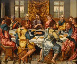 The Last Supper | Pieter Coecke van Aelst | Oil Painting