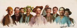 Charakterköpfe | Luis Graner Y Arrufi | Oil Painting