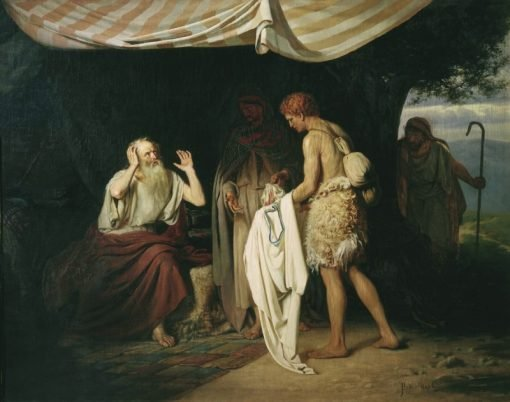 Josephs Clothes Brought to Jacob | Alexander Novoskoltsev | Oil Painting