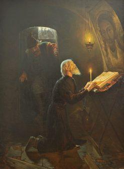 The Last Minutes of Metropolitan Philippe | Alexander Novoskoltsev | Oil Painting