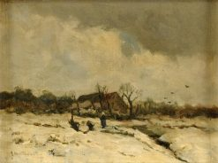 Winter Landscape | Johann Jungblut | Oil Painting