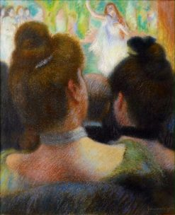 At the Theater | Federico Zandomeneghi | Oil Painting