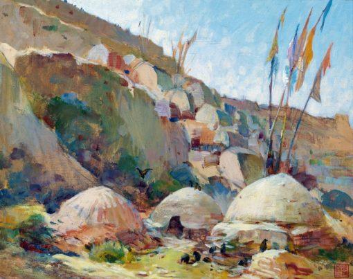 Paysage Chimerique   Alexander Evgenievich Yakovlev   Oil Painting