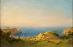 The Italian Coast | Carl Morgenstern | Oil Painting
