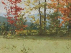 Landscape With Autumn Tints | George Agnew Reid | Oil Painting