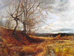November | Emile Noirot | Oil Painting