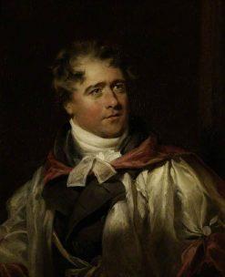 Professor Charles Hague   George Henry Harlow   Oil Painting