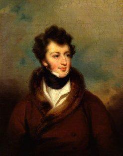 Sir Henry Rowley Bishop | George Henry Harlow | Oil Painting