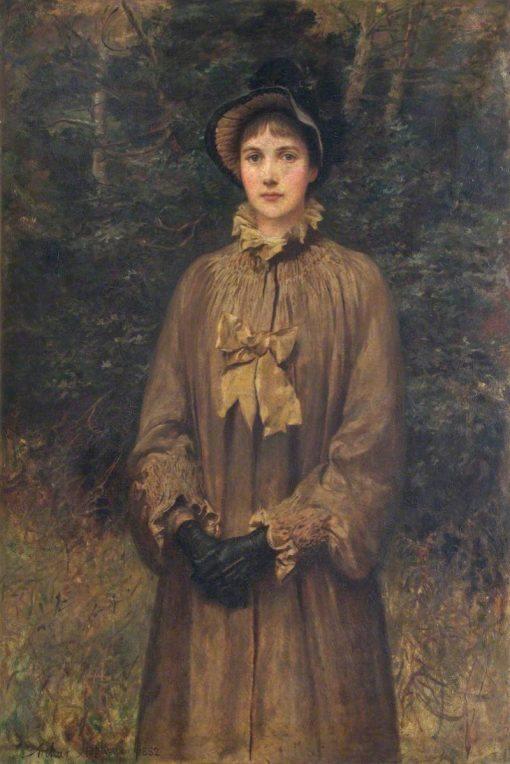 Portrait of a Lady | Arthur Hopkins | Oil Painting
