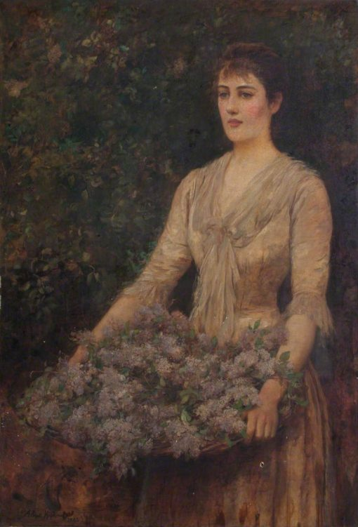 A Load of Lilac | Arthur Hopkins | Oil Painting