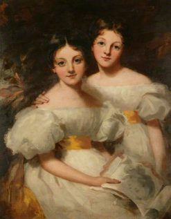 The Sisters | George Henry Harlow | Oil Painting
