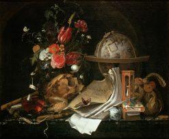 Vanitas Still-Life | Maria van Oosterwijck | Oil Painting