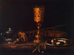 Vanitas Still-Life | Pieter Gerritz. van Roestraten | Oil Painting