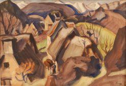 Groire   Jules-Emile Zingg   Oil Painting