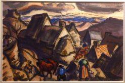 Roche Romaine près de Murol   Jules-Emile Zingg   Oil Painting