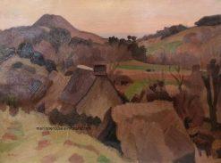 Le Puy dEraigne   Jules-Emile Zingg   Oil Painting