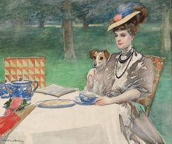 Tea Time | Rupert Bunny | Oil Painting