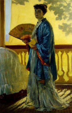 The Fan | Rupert Bunny | Oil Painting