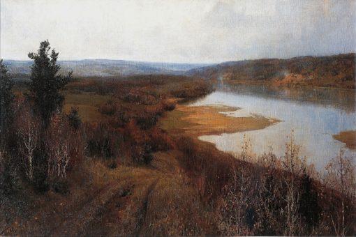 Autumn in Tarusa on the Oka River | Vasily Polenov | Oil Painting