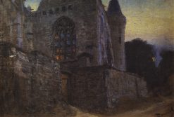 Abbey in Redon | Vasily Polenov | Oil Painting