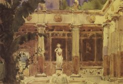 Atrium | Vasily Polenov | Oil Painting