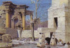 Baalbek | Vasily Polenov | Oil Painting